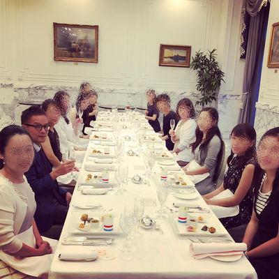 夏の食事会2018